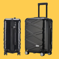 ABS+PC Hard shell Luggage,Carry on trolley case,Rolling Suitcase,Trendy password box,20Boarding trunk,Universal wheel valise