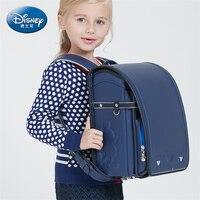 Disney из искусственной кожи школьная сумка Высокое качество Водонепроницаемый Япония рюкзак для мальчиков и девочек школьная сумка ортопеди