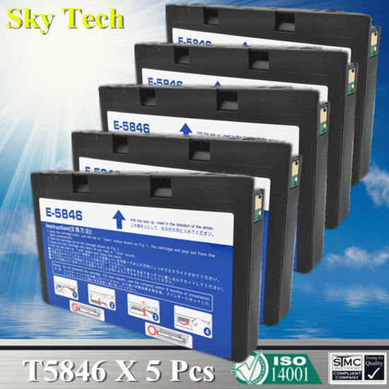US $9 11 8% OFF|Quality Compatible Ink Cartridge For T5846 , T 5846 For  Epson PictureMate PM200 PM240 PM260 PM280 PM290 PM225 PM300 etc-in Ink