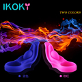 IKOKY Vibrating Ring Penis Ring Silicone Penis Vibrator Penis Sleeve Cock Ring Sex Toys for Men Male Adults Products
