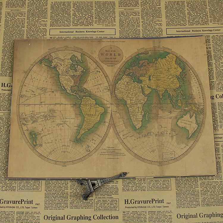 Buy old map design and get free shipping on aliexpress publicscrutiny Images