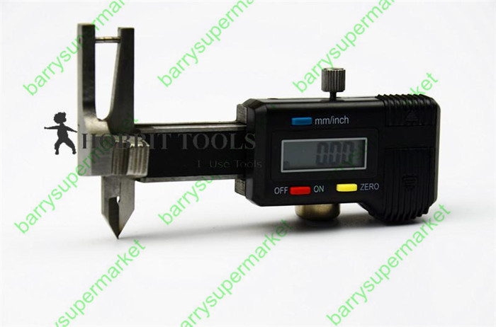 цены на 0-25mm Digital Diamond Gem Gauge Minitype three-purpose digital caliper Digital thickness gauge