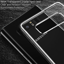sFor Samsung Galaxy Note 8 Case Original IMAK Clear Crystal Plastic PC Hard Cover Case For Samsung Galaxy Note 8