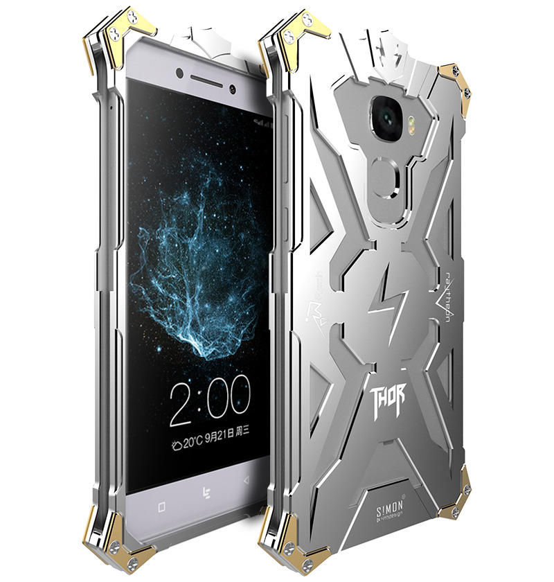 Zimon For LETV Pro 3 Phone Cases Simon Brand Thor Full Body Anti Knock Metal Aluminum