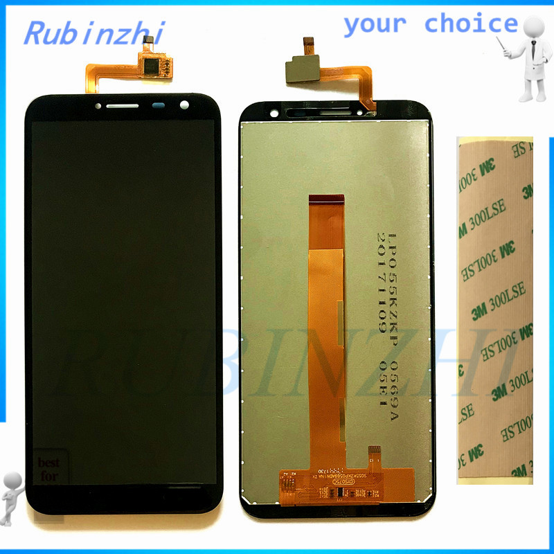RUBINZHI Free Tape Moible Phone LCDs For Oukitel C8 LCD Display Screen With Touch Screen Assembly Complete For Oukitel C8RUBINZHI Free Tape Moible Phone LCDs For Oukitel C8 LCD Display Screen With Touch Screen Assembly Complete For Oukitel C8