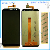 RUBINZHI Free Tape Moible Phone LCDs For Oukitel C8 LCD Display Screen With Touch Screen Assembly Complete For Oukitel C8