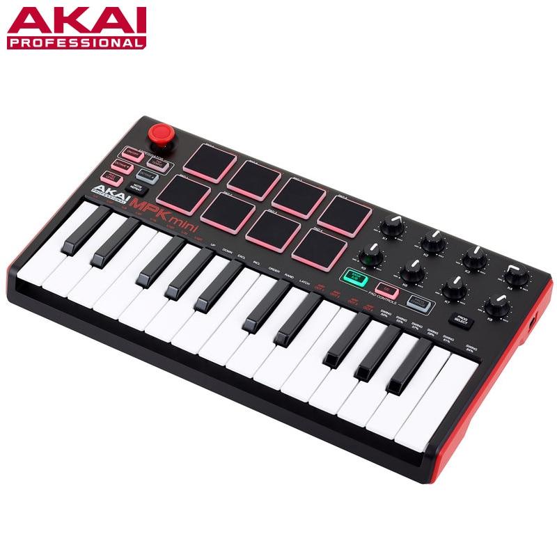 akai mpk mini mk2 25 keys midi controller keyboard control in microphones from consumer. Black Bedroom Furniture Sets. Home Design Ideas