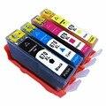 1Set 4Pk Ink Cartridges Replacement For HP HP670 670 XL 670XL HP670XL CZ117AL Deskjet Advantage 3525 4615 4625 5525 6520 6525