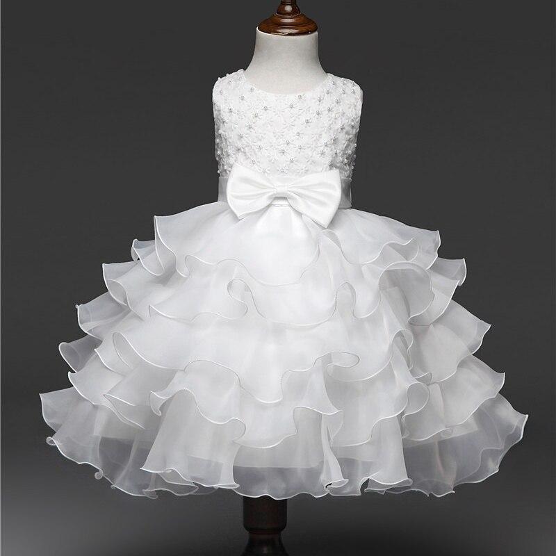 fbf0d3639c7e5 Cérémonie de mariage Costume De Bal Robe Pour Petite Fille 3 10 Ans Robe  Plissée Adolescente Filles Dîner Tenues Formelle Occasion porter dans Robes  de Mère ...