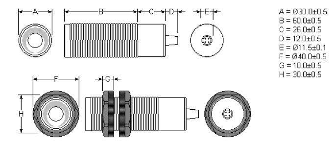 M Gama 12 24VDC fonte de Alimentação