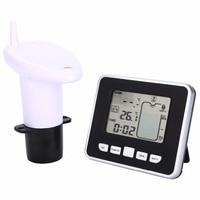 Ultrasonic Water Tank Level Meter Temperature Sensor Display Time Low battery Indicator Instruments Tools LCD Display