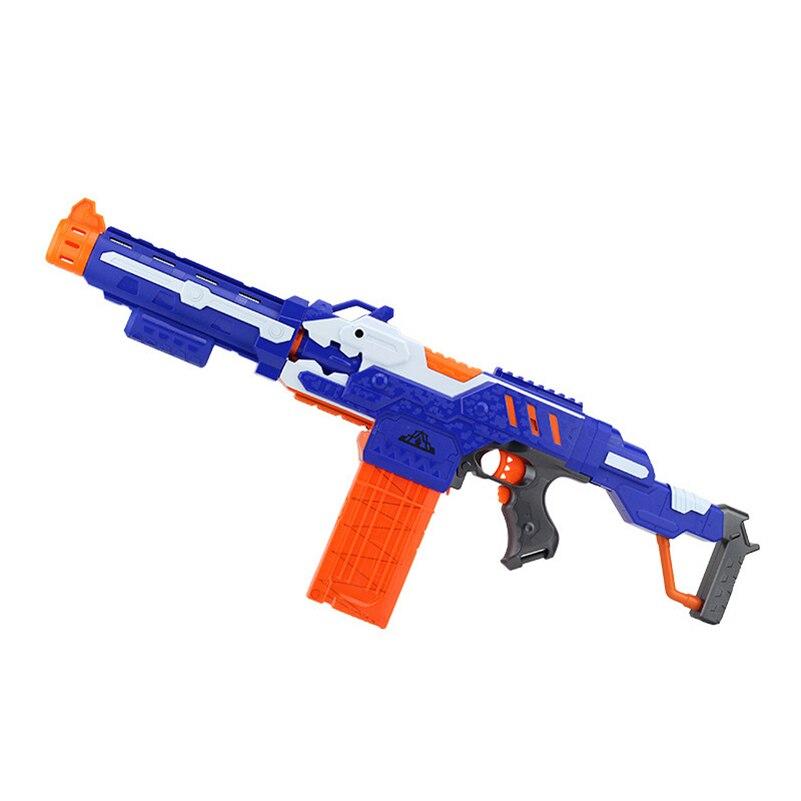 Eva2king électrique balle molle jouet pistolet pour nerf tir mitraillette arme balle molle éclate pistolet drôle en plein air jouets pour enfant - 2