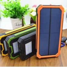 20000mAบางเฉียบธนาคารพลังงานแสงอาทิตย์ชาร์จมือถือPower Bankชาร์จโทรศัพท์มือถือ