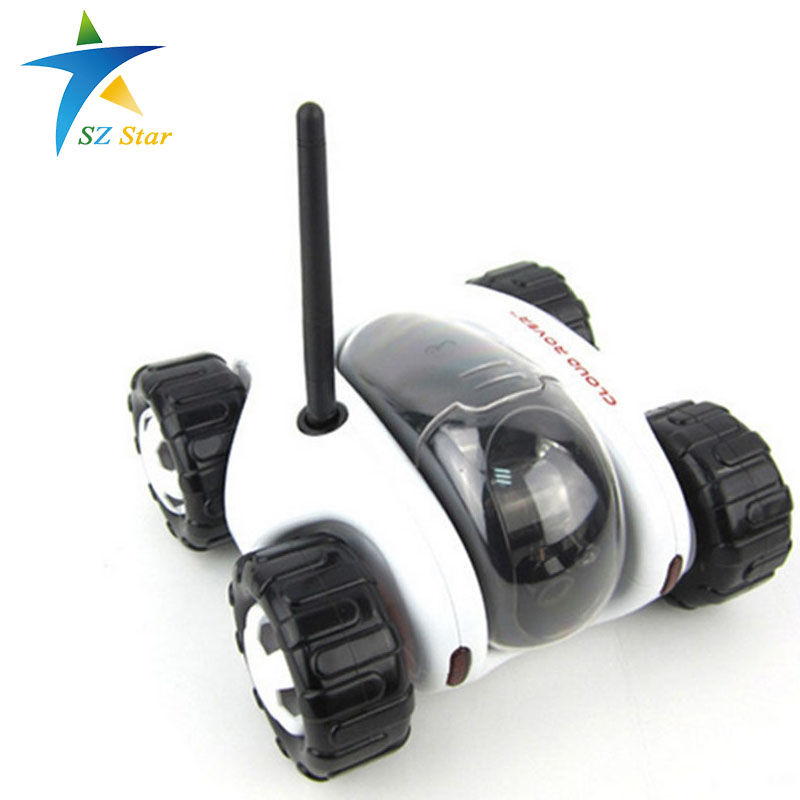 night vision cloud rover 4CH Wifi tank Iphone Ipad Remote Control rc car tank robot With Camera real-time live video FSWB  wireless charger wifi remote control car with fpv camera infrared night vision camera video toy car tanks real time video call