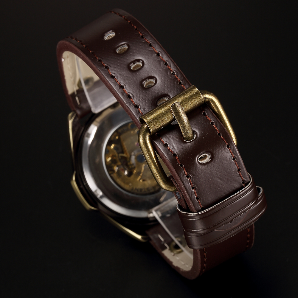 Penggantian Watch Band 22mm untuk Vintage Bronze Watch