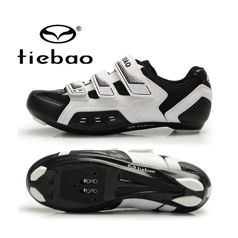 Tiebao New Self-locking Road Cycling Shoes Men Women Ultralight Non-slip Bike Bicycle Shoes Sport Sneakers Zapatos de ciclismo psg nike гетры nike psg stadium sx6033 429