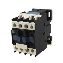 Cjx2-18 3 полюса+ 1NC 380vac катушки Напряжение 18amp, AC-3 Номинальный ток Двигатель Управление контактор переменного тока din рейку