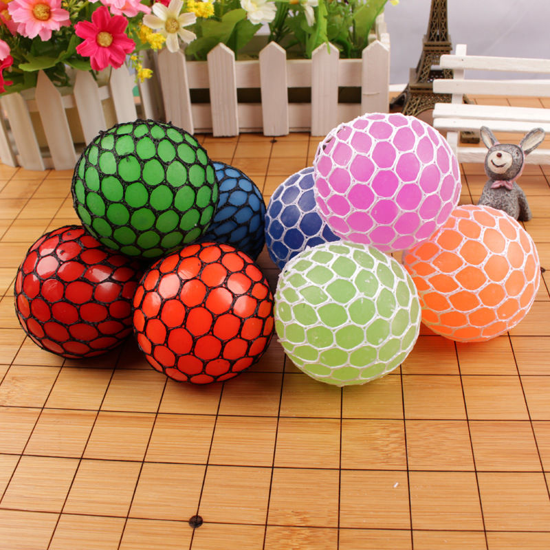 New 1pcs Novelty Phone Strap Fun Splat Egg Venting Ball Gags & Practical Jokes Squishy Squeeze Stress Reliever Venting Ball Toy Mobile Phone Accessories