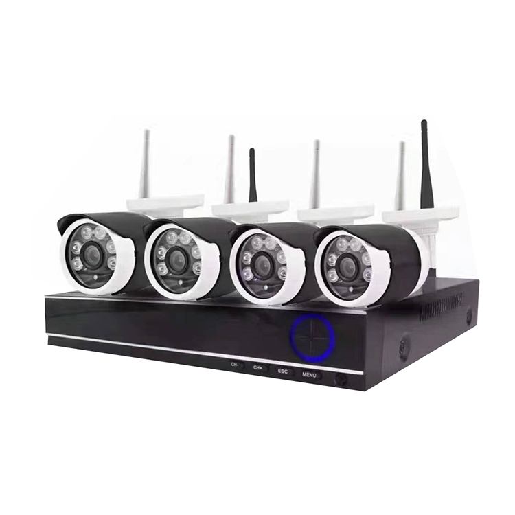 CWH 4CH IP Camera CCTV System 960P HDMI NVR 4PCS 1.3 MP IR Outdoor Security Camera Surveillance Kit 4ch nvr 1tb hdd hard disk 4pcs 1 0mp ip camera ir weatherproof outdoor 720p cctv camera security system surveillance kit
