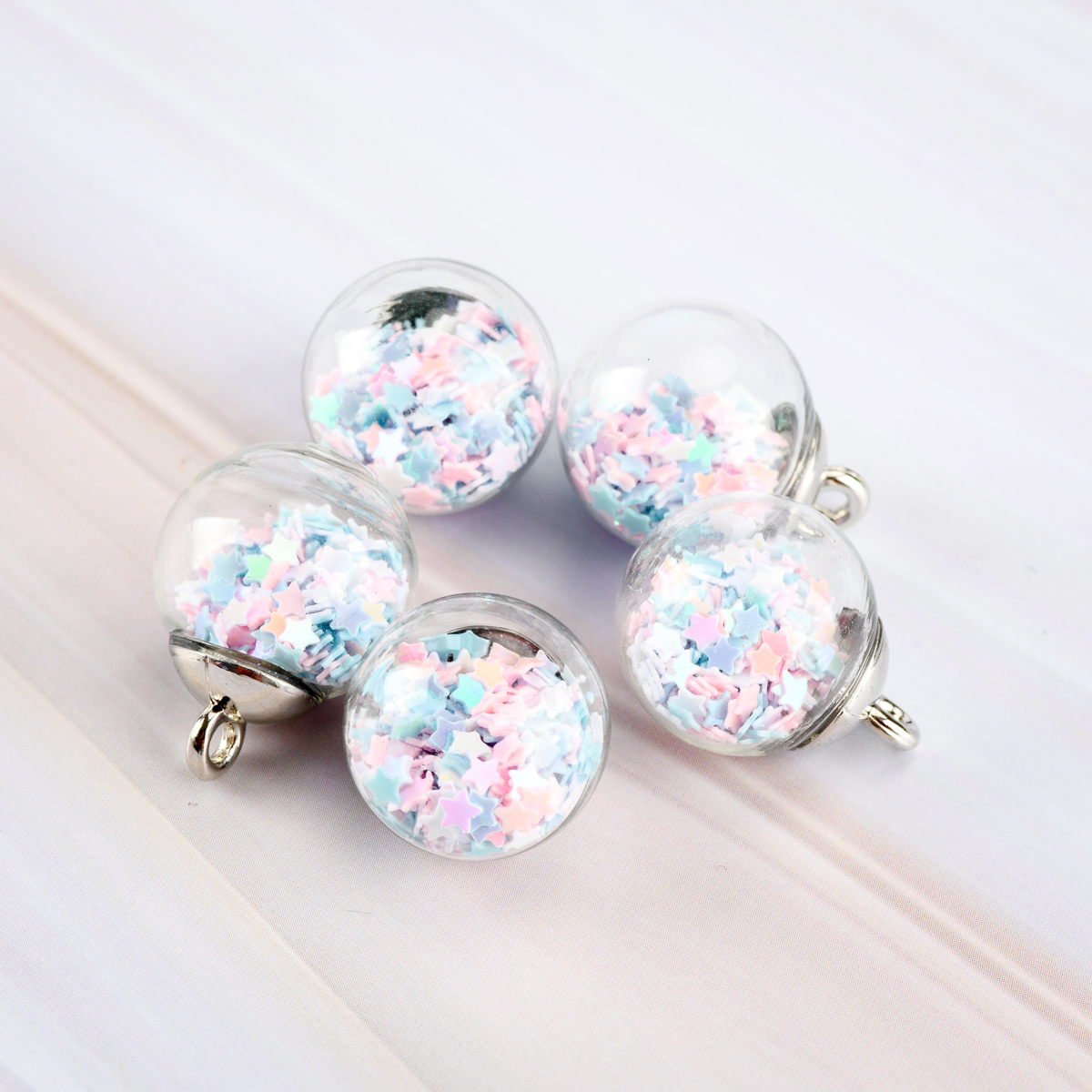 Hollow DIY Glasses Beads Glass Charms Pendant Flower Beads & Jewelry Making Glass Beads Wholesale #IY104