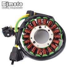 BJMOTO Motorcycle Coil Magneto Stator For Suzuki GN125 GS125 TU125 32101-05300
