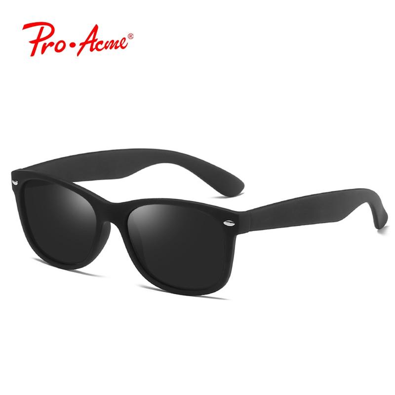 Pro Acme Fashion Classic Square Polariserade Solglasögon Män Brand - Kläder tillbehör