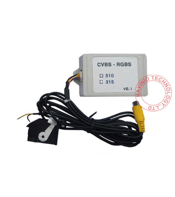 rcd 510 карта памяти - RGB RNS315 RNS 510 RCD 510 box to AV Emulator CVBS Signal Converter Adapter For VW Passat CC Tiguan golf jetta polo