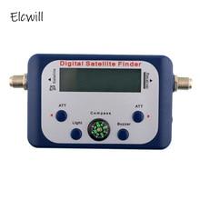 Digital Satellite Signal Finder Meter LCD Screen Display Signal Alert Buzzer Satfinder Signal Tester Strength Meter