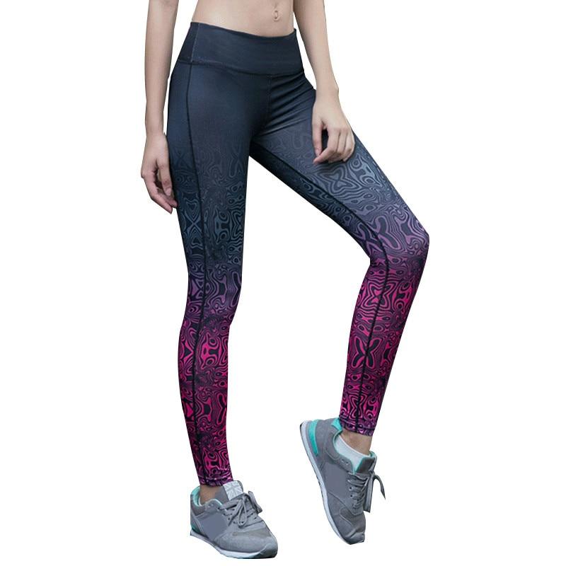 3D Impression Sportives Leggings Femme Taille Haute Collants Running Gym Workout Femmes De Yoga Pantalon Remise En Forme Sport