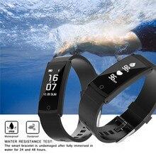 S6 Smart Браслет силиконовый ремешок IP68 Профессиональный Водонепроницаемый + пульс Приборы для измерения артериального давления Мониторы + шагомер для Samsung iphone