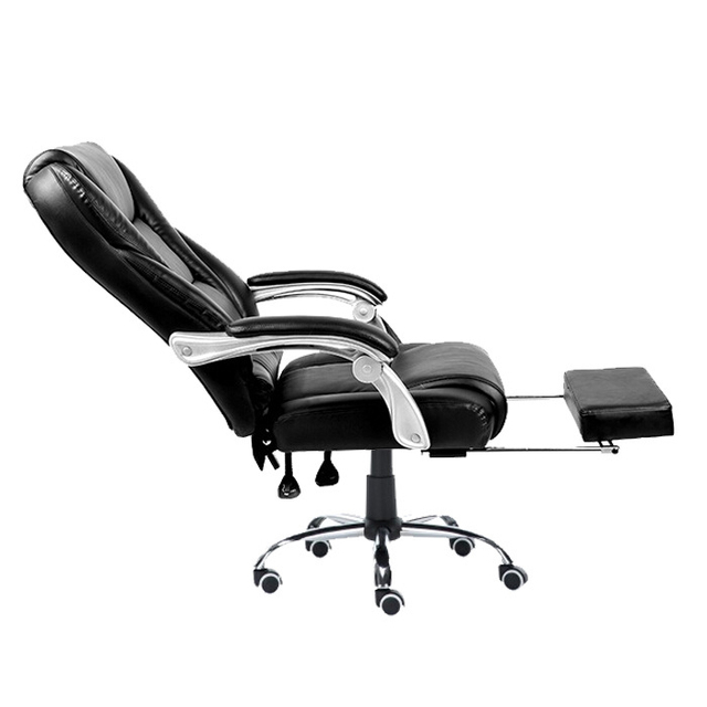 New Arrival Simple Fashion Computer Home Office Chair Ergonomic Leisure Lying Chair Strong Aluminum Alloy Boss Swivel Chair