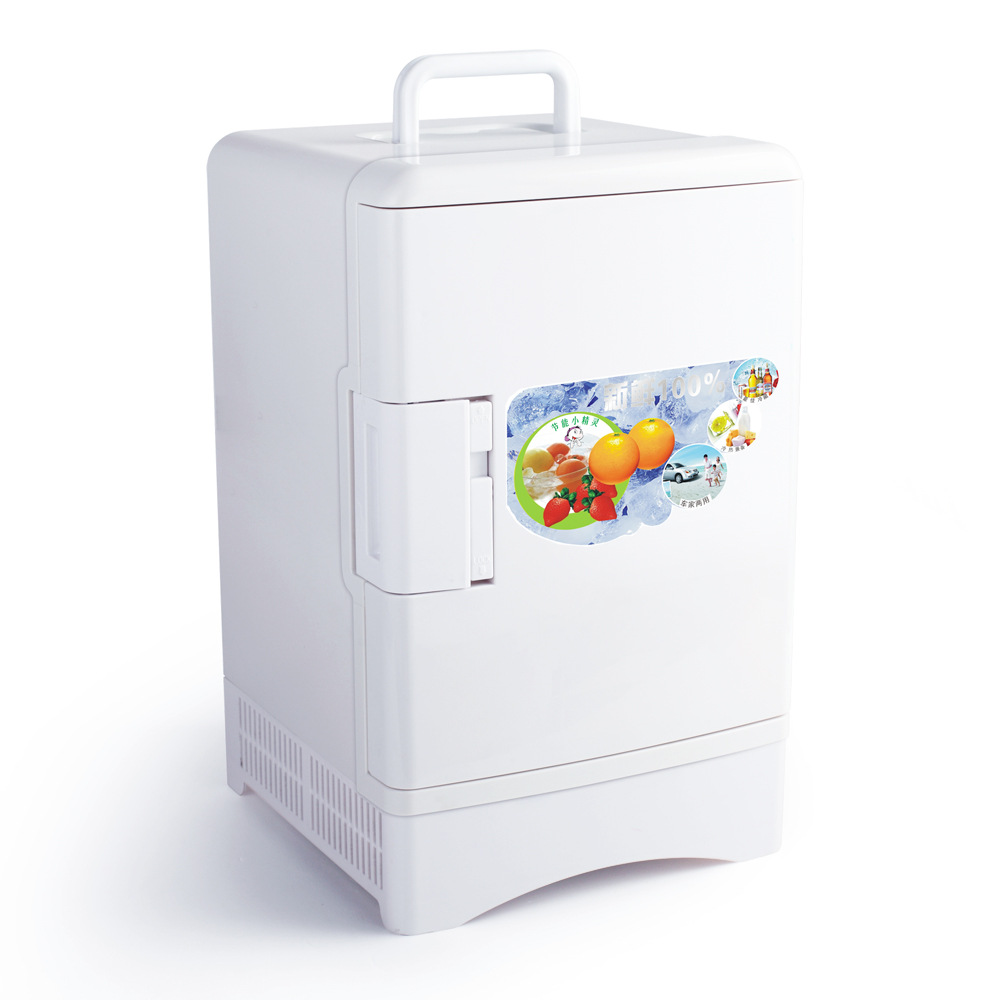 Portable Freezer 13 5 L Mini Fridge Home Dual Use Compact