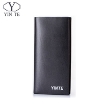 YINTE Men S Top Genuine Leather Business Purse Brand New SD Slot Latest Design Leather Wallet