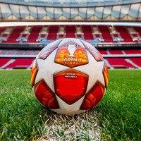 Red Madrid 19 Final Balls 2019 Champions League Soccer Ball Size 5 Match football ball PU high grade seamless paste skin