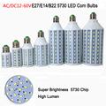 1pcs 12-60v 7w 10w 15w 18w 25w 30W E27 B22 12v 24v 48v led corn bulbs smd 5730 LED corn light warm/cool white free shipping