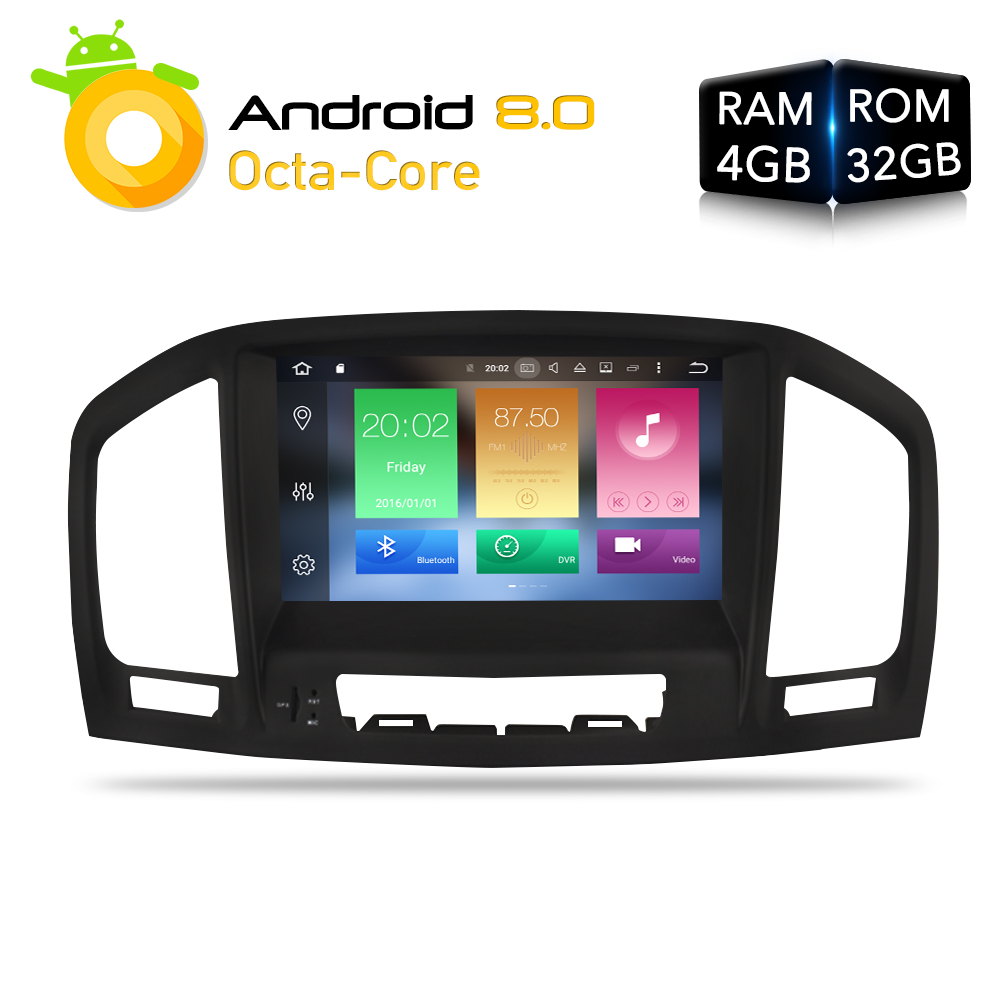 Android 8.0 Car DVD Player GPS Navigation multimedia for Opel Insignia CD300 CD400 Regal Vauxhall 2010 2011 2012 Radio Stereo цены