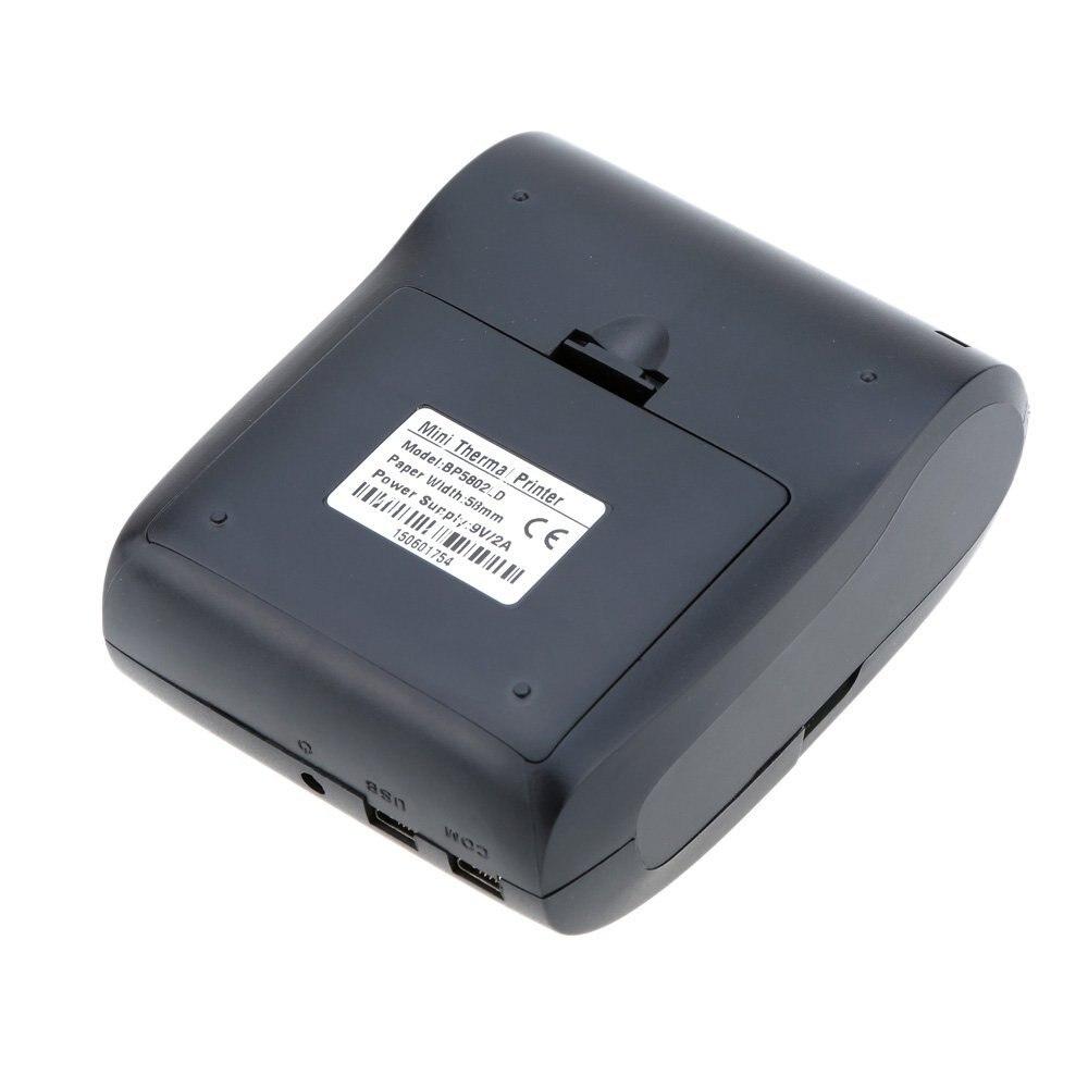 CAA-58mm Mini Bluetooth Draadloze Thermische Printer Afdrukken voor Mobiele Telefoon iOS & Android Tablet PC Draagbare Handheld