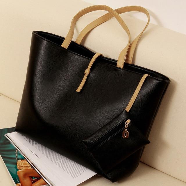 Faux Bag Womens Messenger Leather Lady New Handbag Shoulder Totes Purse Fashion