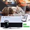 1080P UC40 Projector Portable LED LCD Home Theater USB/SD/AV/HDMI Input 800*480 Multimedia Beamer For Home Theater pk UC60