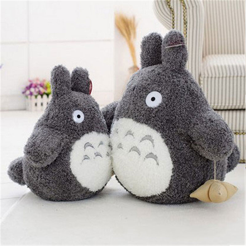 Totoro Plush Toys Soft Stuffed Animal Fat Cat Cartoon Pillow Cute Soft Anime Toys Doll Children Birthday Christmas Gift