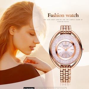SENORS Jewelry watch waterproof fashion