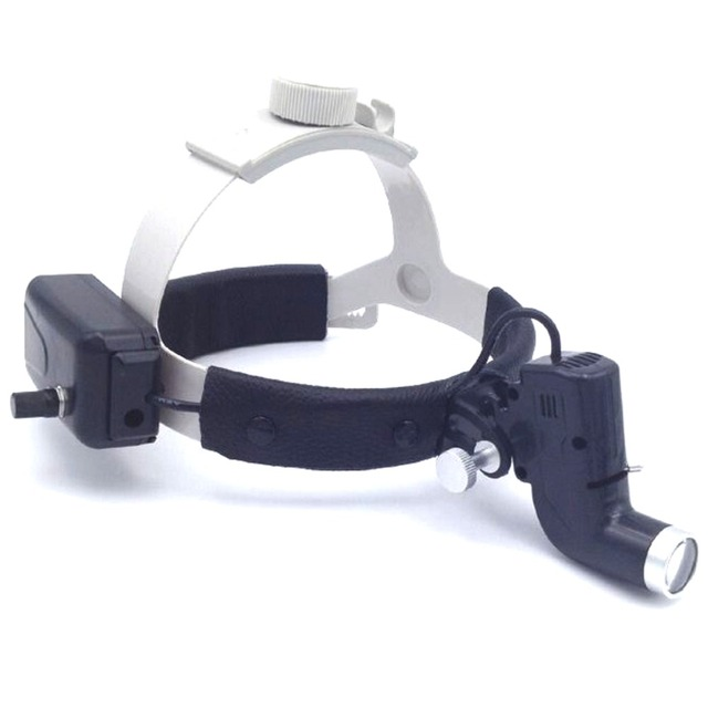 Spark Ultra Bright Dental Headband LED Lights for Loupes with 5 Hour Continuous Runtime Battery High intensity 30000Lux