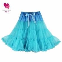 Летний стиль, женская мягкая ткань, 65 см, длинная Сексуальная шифоновая юбка-американка, одиночные юбки, Женская Нижняя юбка