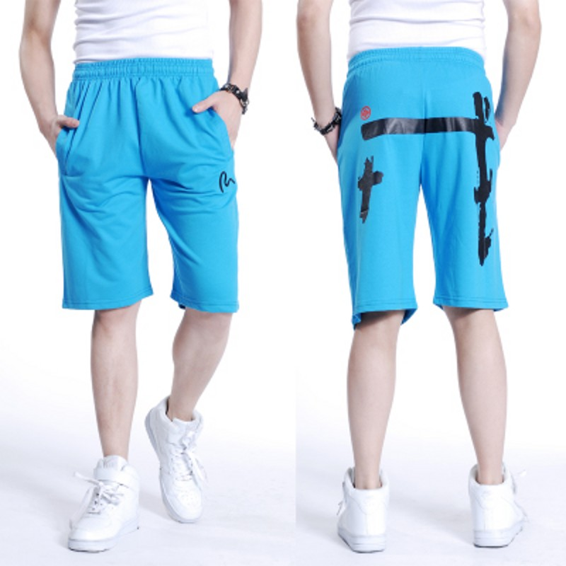 Free shipping summer Plus size mens hiphop cotton shorts men hip hop Chinese style short man print trousers shorts man 6xl 7xl