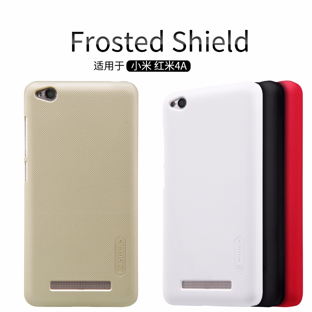 for Xiaomi redmi 4A case cover Nillkin frosted case for Xiaomi redmi 4A