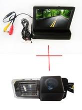 Цвет заднего вида Камера для Фольксваген Мужские поло V (6R) /Гольф 6 VI/Passat CC, с 4.3 дюймов складной ЖК-дисплей Мониторы