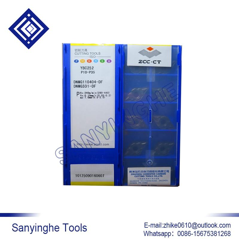free shipping high quality 10pcs lots DNMG110404 DF YBC252 cnc carbide turning inserts cnc blade lathe