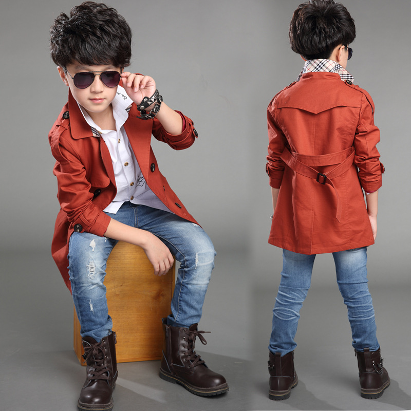 c8fcde78e8450 autumn spring 5 16 years old children belt clothing child clothes baby  outerwear dust coat boys jackets kids tops wear-in Trench from Mother   Kids  on ...