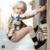 2017 PRIMAVERA OUTONO CRIANÇAS girafa padrão camisetas + calças 2 pcs conjuntos de roupas de bebê roupas de bebê menino menina roupa dos miúdos roupas bebe