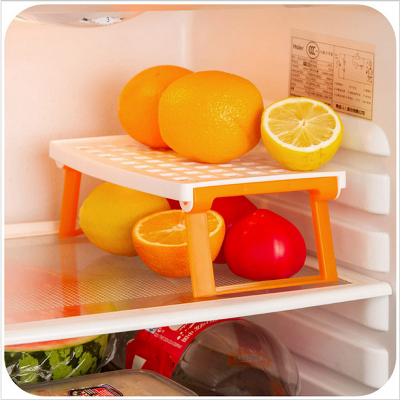 Kitchen Microwave Oven Shelf Multipurpose Plastic Rack Tray Holder Organizer Tool Accessories